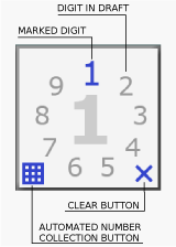 ScreenShot Image : The Number Place - Sudoku-style puzzle game for Microsoft .NET Framework for Silverlight